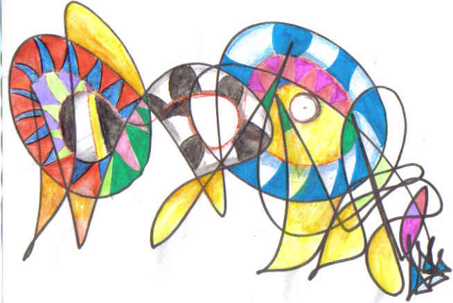 Arlequin Coloriage Couleur.Atelier